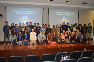 Second annual Northern Nevada Academic WorldQuest held at the University of Nevada, Reno February 7, 2015.